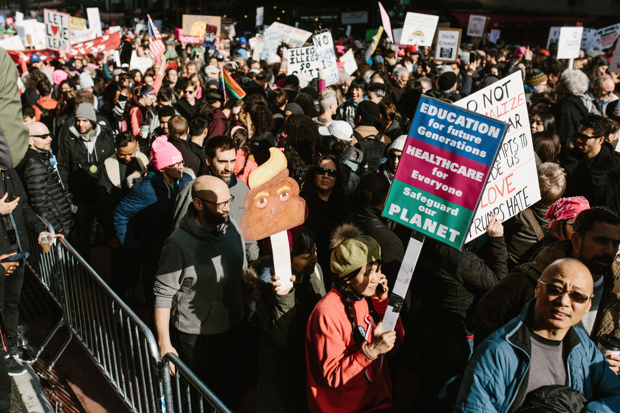 new city women Demonstrators are marking the first anniversary of the women's march this weekend marchers are gathering in new york city.