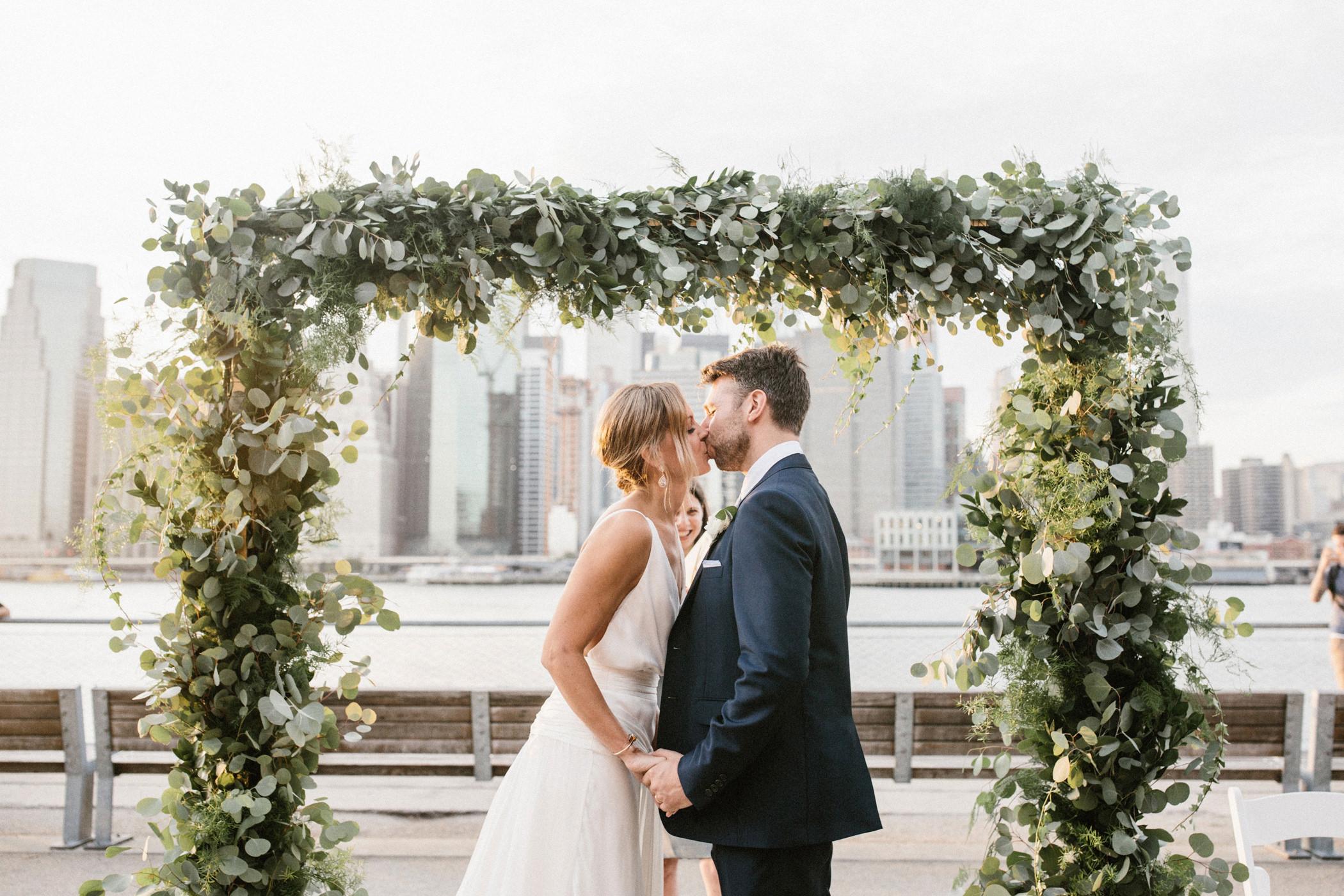 Matt Megan Married 1 Hotel Brooklyn Bridge Wedding Nyc