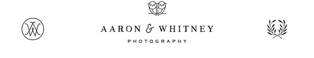 Aaron & Whitney Photography logo